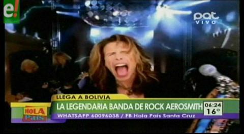 Todo lo que tienes que saber sobre el concierto de Aerosmith en Bolivia