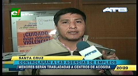 Controlarán las agencias de empleo en Santa Cruz
