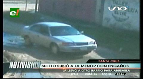 Sujeto rapta y abusa de una menor de 10 años en Los Lotes