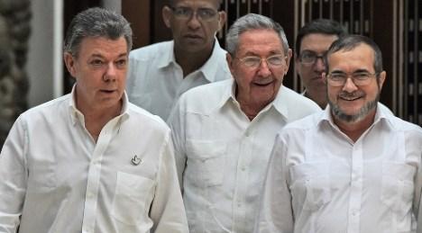 Santos-las-farc