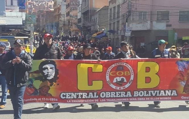 Gobierno responde a la COB y condiciona el diálogo a la suspensión del paro