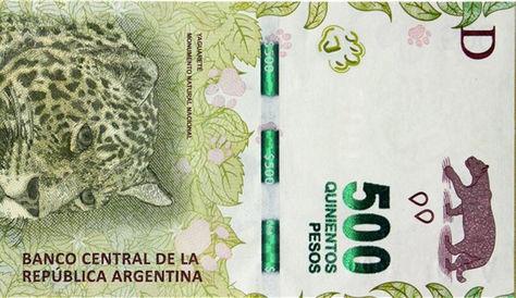 El billete que empieza a circular en Argentina