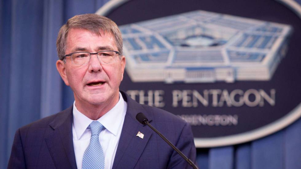 El secretario de Defensa, Ashton Carter.