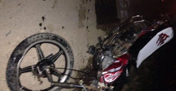 El conductor de la motocicleta perdió la vida en este accidente de tránsito
