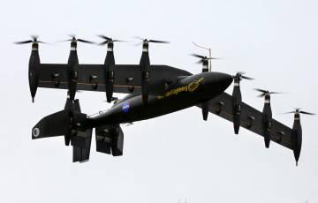 El avión eléctrico Greased Lightning GL-10, un ejemplo de potencia eléctrica distribuida.