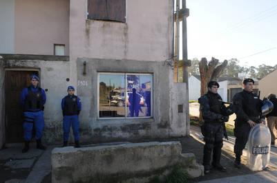 La casa donde el asesino de Necochea inició la masacre. (Foto: Fabián Gastiarena)