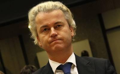 En baja. El líder ultraderechista holandés Geert Wilders, prometió un referéndum para sacar al país de la UE y ahora pierde adeptos. /AP