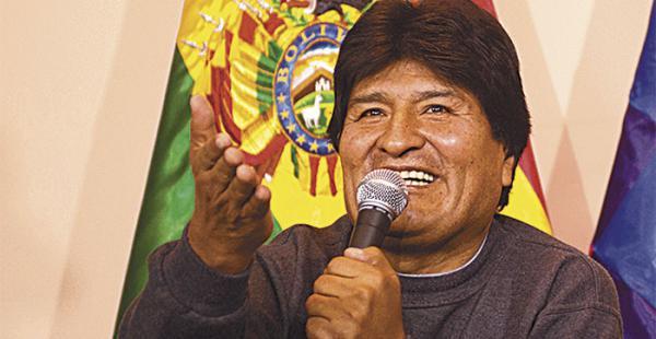 Para Evo Morales, de qué paz habla Chile si se está armando