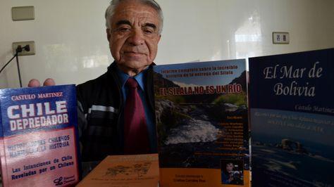 El escritor chileno Cástulo Martínez
