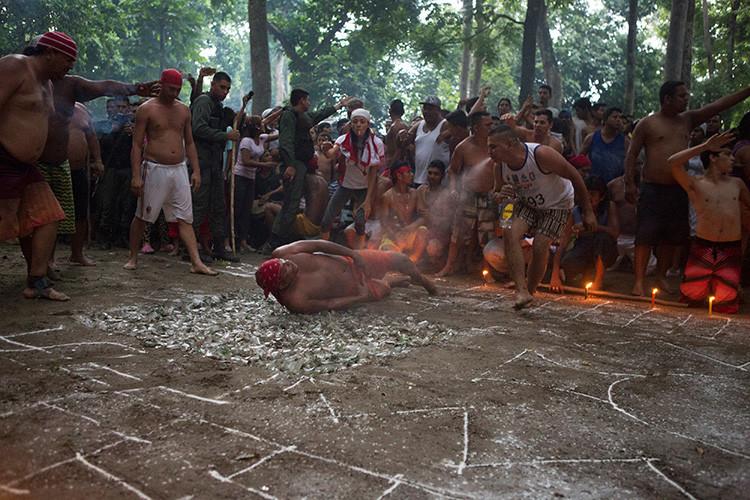 Realización del ritual
