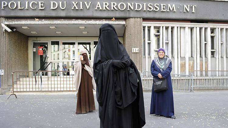 Mujer musulmana en París, en una imagen de 2011