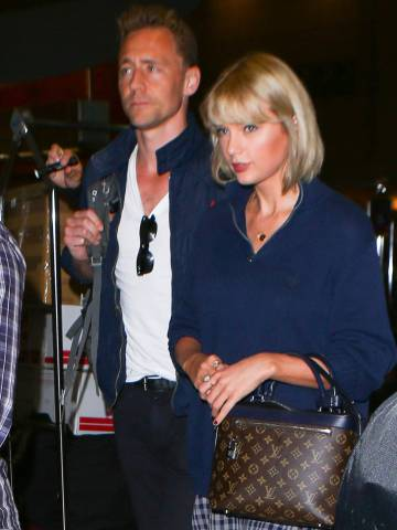 Taylor Swift y Tom Hiddleston, en Los Ángeles.