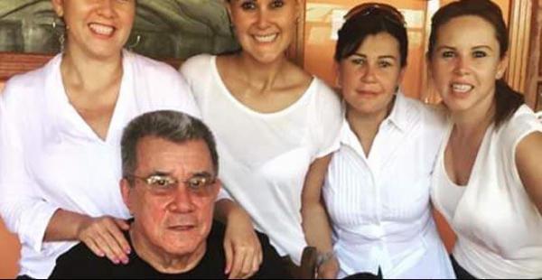El exprefecto de Pando Leopoldo Fernández fue recibido por sus familiares este domingo