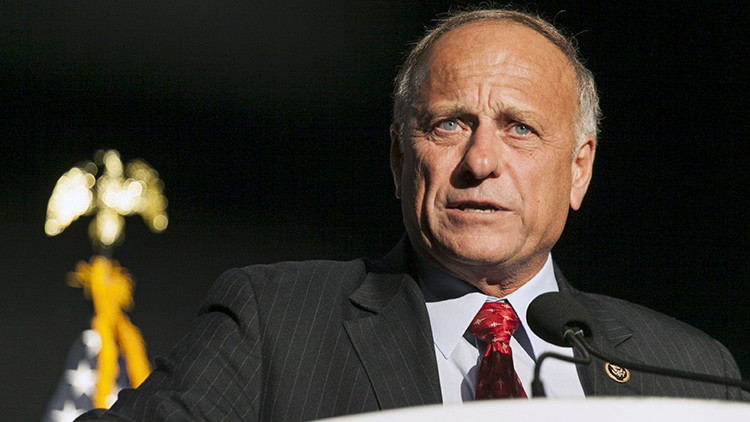 El congresista republicano Steve King