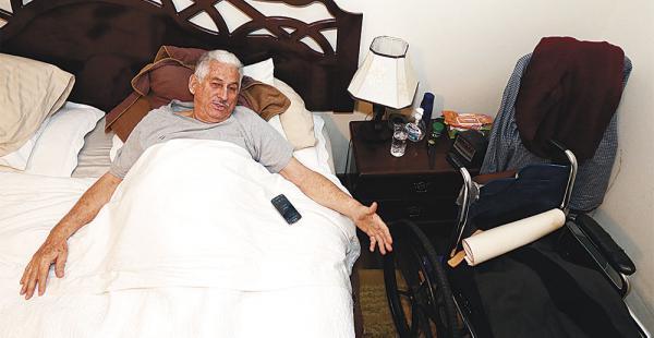 Prado busca recuperarse de las úlceras que laceran su cuerpo para dar pelea en el juicio del Gobierno