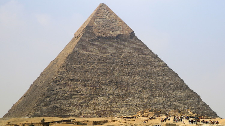 Gran piramide de Guiza, Egipto.