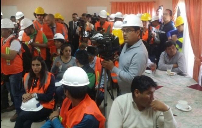Sugieren a la delegación boliviana abandonar Iquique de inmediato