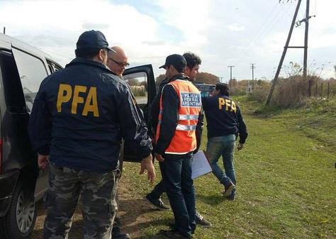Agentes de la Policía Federal Argentina.