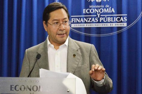El ministro de Economía, Luis Arce