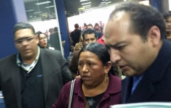 Achacollo no se presenta a declarar y su abogado pide suspender su comparecencia para el lunes