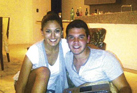 Desde hace 11 años. María Paula Baldiviezo y Ariel Canido se conocieron cuando estudiaban en el cba. La chef vive en Perú luego de haber estudiado en EEUU