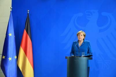 Preocupación. Angela Merkel mantuvo reuniones con sus ministros y envió condolencias a las familias de las víctimas. /BLOOMBERG