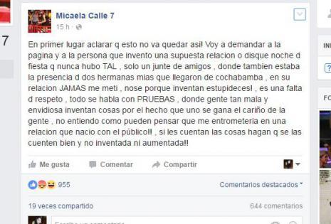 Micaela Calle 7