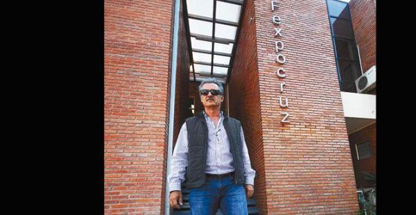 A paso firme, el presidente de la Cámara Agropecuaria del Oriente y de la Fexpocruz asegura que el 100% de los espacios fueron vendidos
