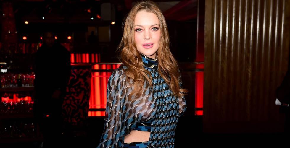 Lindsay Lohan, el pasado mes de abril.