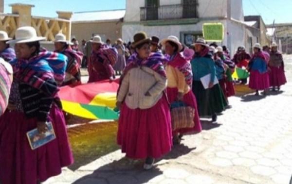 Umala, un municipio que lleva ante la justicia a los violadores sexuales