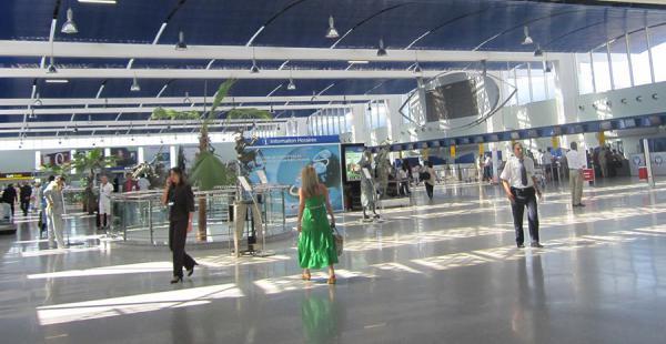 El aeropuerto de Casablanca, en Marruecos
