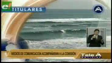 Titulares de TV: Comisión viaja el 17 de julio a Chile para verificar abusos contra transportistas