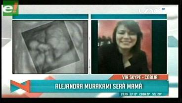 Alejandra Murakami anunció que está embarazada