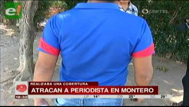 Atracan a un periodista en Montero