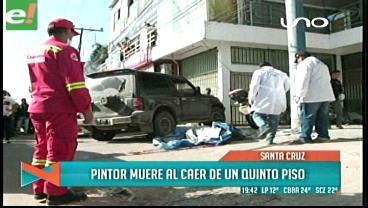 Hombre muere tras caer de un edificio