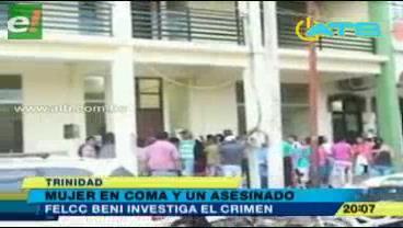 Felcc investiga cadáver hallado en carretera a San Borja