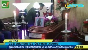 Amigos y parientes de la familia que fue asesinada en El Alto piden justicia
