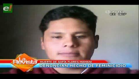 Mujer muere ahorcada por su esposo en El Alto