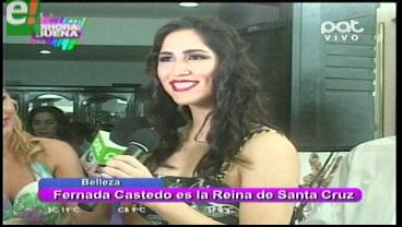 Fernanda Castedo es la Reina de Santa Cruz 2016