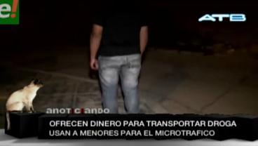 """Aumentan denuncias de menores usados como """"mulas"""" para el narcotráfico"""