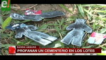 Encuentran perro sacrificado en un cementerio