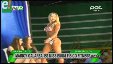 Marioly Galarza es Miss Bikini Fitness 2016