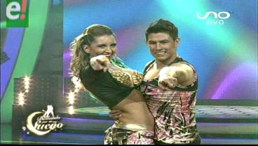 Andrea Forfori y Thiago Jiménez se lucen en la pista de baile