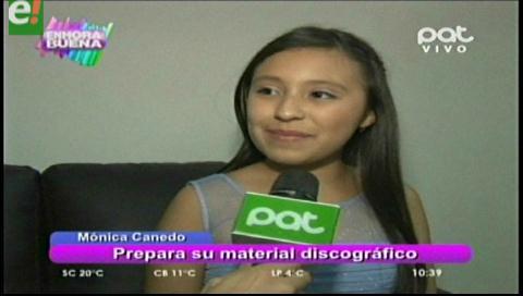 Mónica Canedo prepara su disco junto a Fabio Zambrana