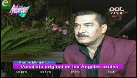 Carlos Montalvo, exvocalista de Los Ángeles Azules visita Bolivia