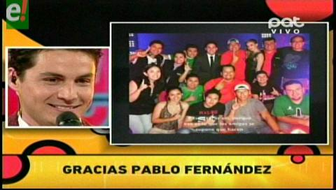 "Red PAT: ""Gracias Pablo Fernández"""