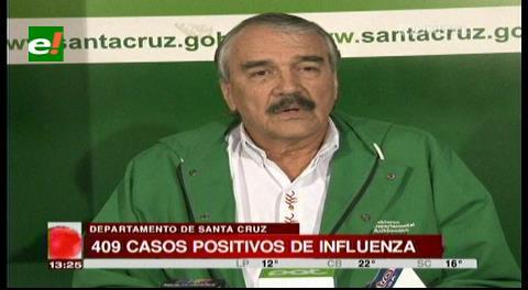 Nuevo deceso a causa de la influenza, ya son 409 casos en Bolivia