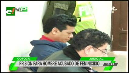 A Palmasola Pepe Putaré por la muerte de su pareja en Cotoca