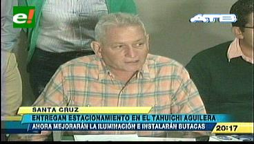 """Rubén Costas entrega ampliación y remodelación del Estadio Ramón """"Tahuichi"""" Aguilera en su primera fase"""