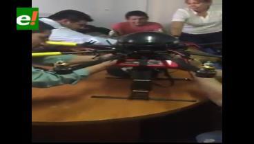Exconcejal Roca muestra cómo se armó dron cuestionado